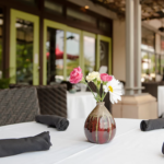 Patio dining at North Hills' Midtown Grill in Raleigh