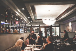 Midtown Grille in Raleigh's North Hills is known for their wine selection and wine dinners