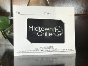 Midtown Grille Gift Card
