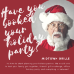 It's Time to Start Planning Your Holiday Parties