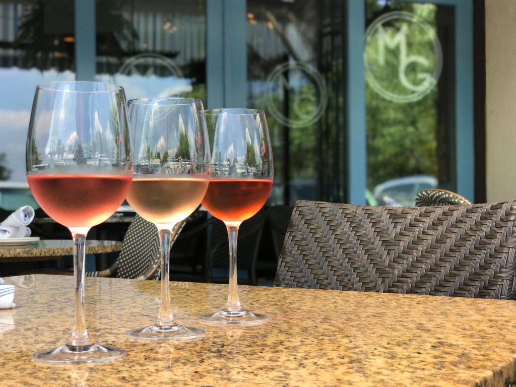 It's time to rosé all day! Our July wine flight is available seven days a week during lunch, dinner, late night, and Sunday brunch. For just $18, enjoy three bright, light rosé wines - each with a unique take on the popular vino variation.