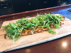 Spinach & 3 Cheese Flatbread at Midtown Grille