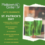 St. Patrick's Day at Midtown Grille