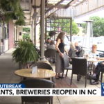 WRAL Visits Midtown Grille in Raleigh During Phase Two Reopening on May 22 2020 (1)