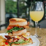 Brunch BLT Sandwich at Midtown Grille Raleigh