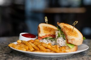 Chicken Salad Sandwich at Midtown Grille Raleigh