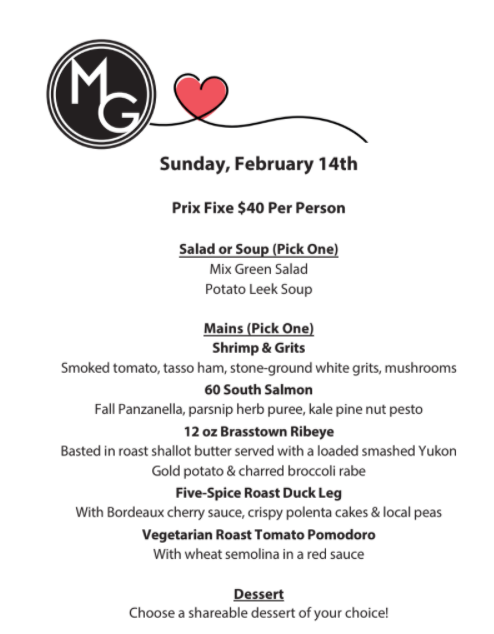 Valentines Day Specials at Midtown Grille