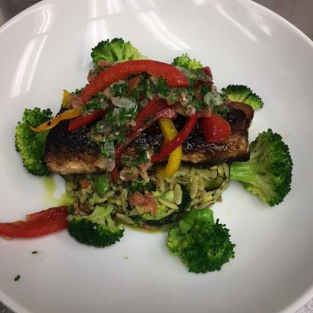 Midtown Grille_ Crusted Red Snapper